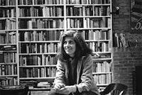 <i>Photograph of Susan Sontag by Dominíque Nabokov, 1979.</i>