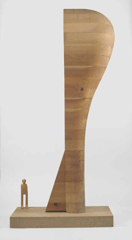 Martin Puryear. <em>Maquette for Bearing Witness.</em> 1994. © Martin Puryear. Courtesy the artist and Matthew Marks Gallery. Photo: Jamie Stukenberg, Professional Graphics.
