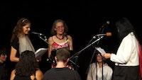 Anne Carson, Anne Waldman, Eleni Sikelianos, Naropa 2013.