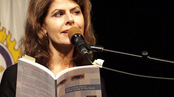 Eleni Sikelianos, Naropa 2013.