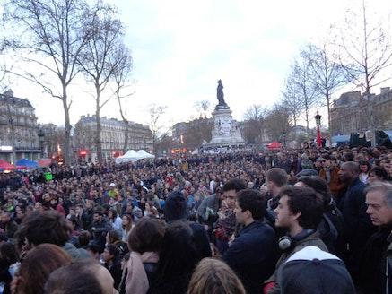 General Assembly, Place de la Republique, April 10.