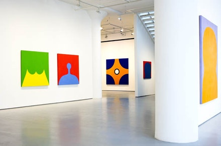 Installation View: <em>Marcia Hafif: The Italian Paintings, 1961 &#150; 1969</em>. Fergus McCaffrey, New York, 2016. &copy; Marcia Hafif. Courtesy Fergus McCaffrey.