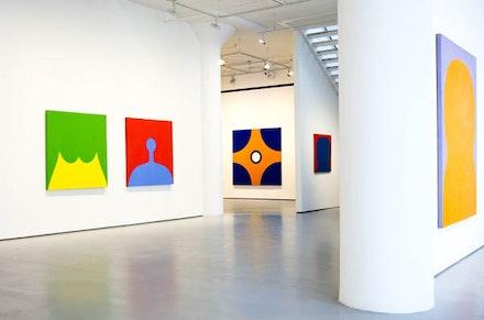 Installation View: <em>Marcia Hafif: The Italian Paintings, 1961 – 1969</em>. Fergus McCaffrey, New York, 2016. © Marcia Hafif. Courtesy Fergus McCaffrey.