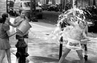 "Andrew Hodges, ""Water Fight — Brooklyn"" (2004)."