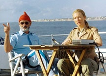 Bill Murray and Cate Blanchett in <i>The Life Aquatic with Steve Zissou</i>, Touchstone Pictures. Photo © 2004 Touchstone Pictures.