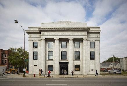 Theaster Gates, Stony Island Arts Bank, Chicago, Illinois, 2014. © Theaster Gates. Courtesy Tom Harris.