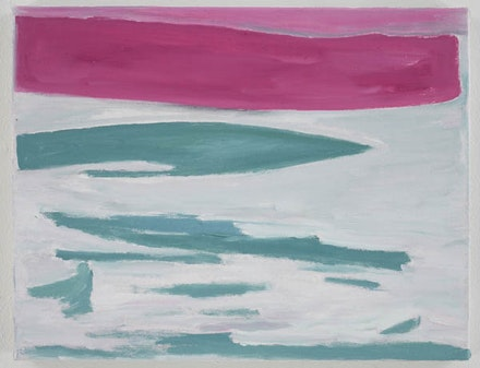 Raoul De Keyser, <em>Drift</em>, 2008. Oil on canvas. 13 5/8 x 17 1/2 inches. Courtesy David Zwirner Gallery, New York and London.