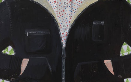 Elena Sisto, <em>Black Jacket</em>, 2013 &#150; 14. Oil on canvas. 30 x 40 inches. Photo: Etienne Frossard. Courtesy the artist and Lori Bookstein Fine Art, New York.