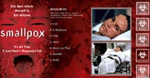 The promotional website for <i>Smallpox</i>, courtesy of www.fxnetworks.com.