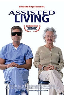 The movie poster for <i>Assisted Living</i> (2005). Photo © Economic Projections.