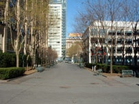 MetroTech on a Saturday afternoon, December 2004. Photos by Brian J. Carreira.