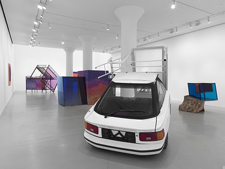 Installation View: <em>Sarah Braman: You Are Everything</em>, March 10 - April 16, 2016. Mitchell-Innes & Nash. Courtesy the artist and MItchell-Innes & Nash.
