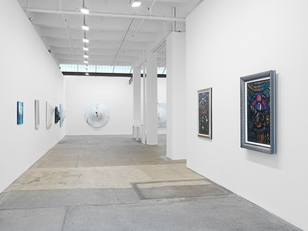 Installation View: <em> Dialogos constructivistas en la vanguardia cubana</em>. April 28 - June 25, 2016. Galerie Lelong, New York. Courtesy Galerie Lelong, New York.