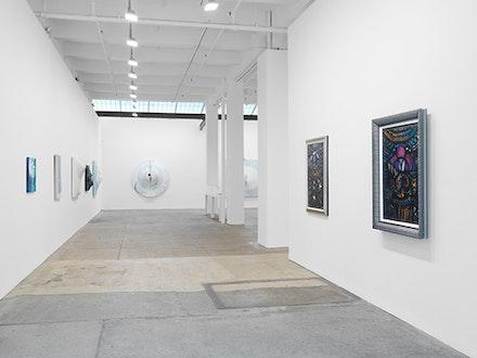 Installation View: <em> Dialogos constructivistas en la vanguardia cubana</em>. April 28 - June 25, 2016. Galerie Lelong, New York. Courtesy Galerie Lelong, New York.