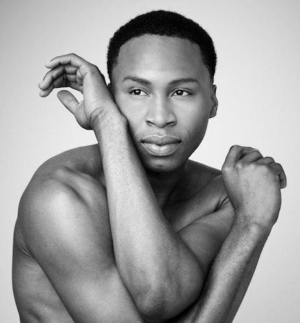 Alvin Ailey American Dance Tbeater's Jeroboam Bozeman. Photo: Andrew Eccles.