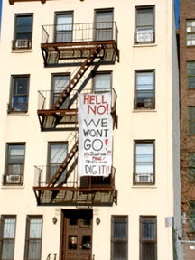 Dean Street residents on being forced out of their homes for an arena, December 2004.