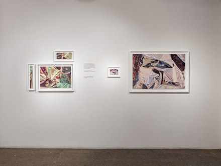 Installation view: Carol Szymanski: <em>A Distance as Close as it Can Be</em>. Elga Wimmer, April 1 – 31, 2016. Courtesy Elga Wimmer.