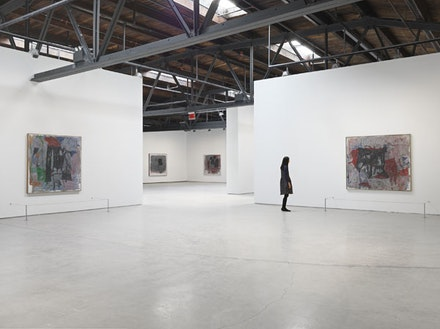 Installation view: <em>Philip Guston: Painter, 1957 &#150; 1967</em>. Hauser & Wirth New York, 18th Street. Photo: Genevieve Hanson. &copy; The Estate of Philip Guston. Courtesy Hauser & Wirth.