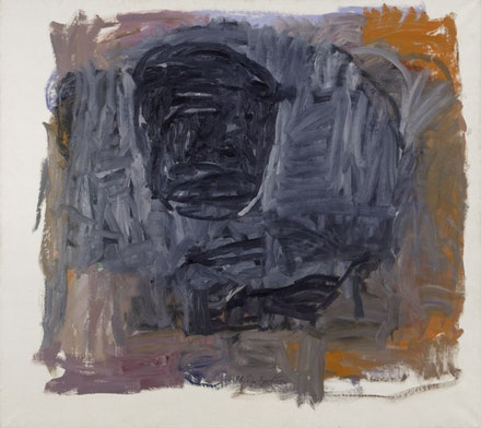 Philip Guston, <em>Painter III</em>, 1963. Oil on canvas. 66 &times; 79 inches. Private Collection, London. &copy; The Estate of Philip Guston. Courtesy Hauser & Wirth.