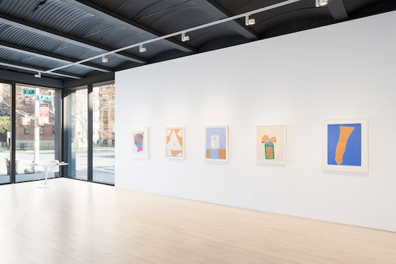 Installation view: <em>Robert Motherwell: The Art of Collage</em>, April 14 – May 21, 2016. Courtesy Paul Kasmin Gallery.