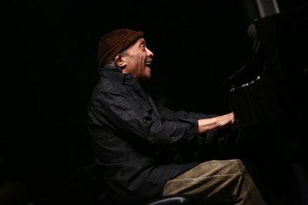 Cecil Taylor, performance at the Whitney Museum of American Art, April 14, 2016, as part of Open Plan: Cecil Taylor, April 15–24, 2016. Photo: © Paula Court.