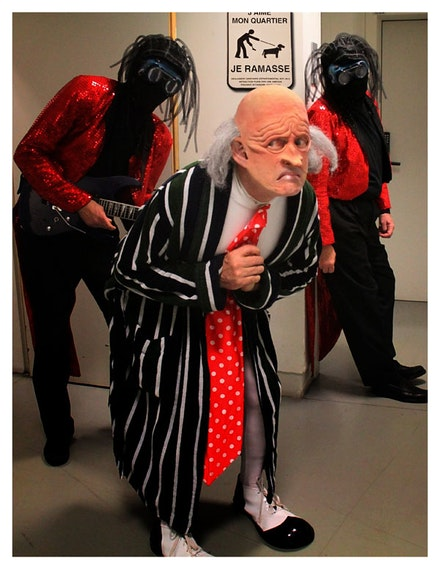 "The Residents: ""Randy,"" ""Chuck,"" and ""Bob."" Photo courtesy the artist."