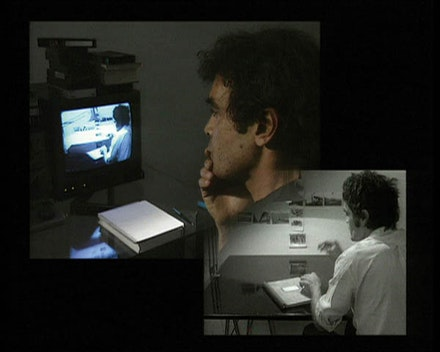 Still from <i>Interface</i> (Harun Farocki, 1995). Courtesy HARUN FAROCKI FILMPRODUKTION and Greene Naftali, New York.