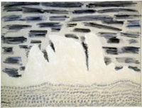 "Milton Avery, ""Onrushing Wave"" (1958), oil on canvas. Courtesy Knoedler & Company, New York."