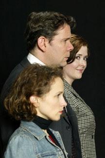 Jennifer Dundas, Thomas Jay Ryan and Alison Weller. Photo by Carol Rosegg.
