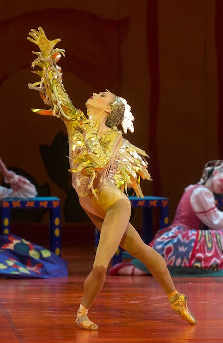 Skylar Brandt in <em>The Golden Cockerel</em>. Photo: Rosalie O'Connor.