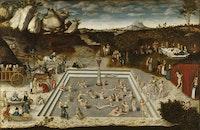 Lucas Cranach the Elder, <em>Fountain of Youth</em>, 1546.