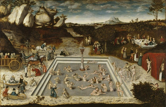 Lucas Cranach the Elder, <em>Fountain of Youth</em>, 1546.