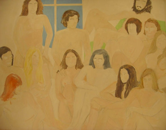 George Schneeman, <em>Untitled (Nude Group)</em>, 1969.
