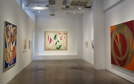 Installation view: <i>Lee Krasner</i>, Robert Miller Gallery, April 21 &#150; June 11, 2016. Courtesy Robert Miller Gallery.