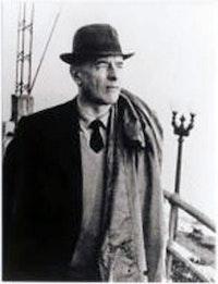 Photograph of Gombrowicz on board the <i>Costanera</i> by M. Swieczewska. Courtesy of Yale University.
