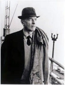Photograph of Gombrowicz on board the <i>Costanera</i> by M. Swieczewska. Courtesy of Yale University.