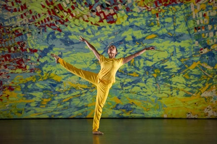 LA Dance Project dancer Stephanie Amurao in <em>On the Other Side</em> by Benjamin Millepied. Photo: Laurence Phillipe.