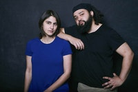 Nat Turner director Megan Sandberg-Zakian and playwright Nathan Alan Davis. Photo: Jenny Anderson.