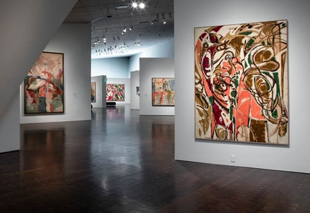 Installation view: <em>Women of Abstract Expressionism</em>, Denver Art Museum, June 12 – September 25, 2016. Courtesy Denver Art Museum.
