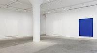 Installation view: <em>Chung Sang-Hwa</em>, Greene Naftali, New York, June 1 - August 5, 2016. Courtesy the artist, Greene Naftali, New York, Dominique Lévy, New York, and Gallery Hyundai, Seoul. Photo: Elisabeth Bernstein.