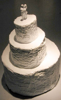 "Matt Freedman, ""Wedding Cake"" (2004). Photo by Jude Tallichet."