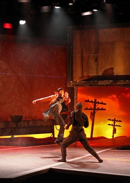 Raymond Lee&nbsp;in South Coast Repertory&#146;s 2015 world premiere of&nbsp;<em>Vietgone</em>&nbsp;by Qui Nguyen. Photo by Debora Robinson/SCR.