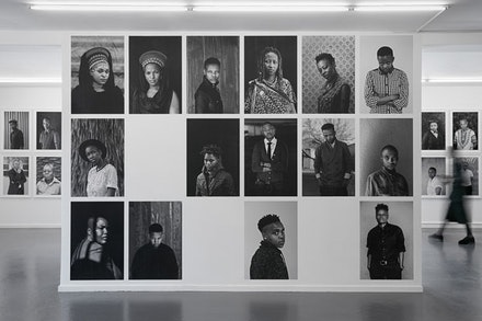 Installation view: <i>Faces and Phases 10,</i> 2016. Courtesy Stevenson Cape Town and Johannesburg.