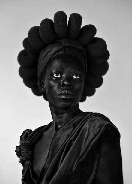 Zanele Muholi, <i>Ntozakhe II, Parktown</i>, 2016. Silver gelatin print, 43 x 32 inches. (c) Zanele Muholi. Courtesy Stevenson Cape Town and Johannesburg.