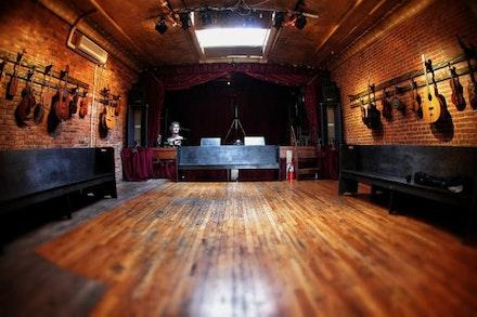 Jalopy Theatre. Photo: Brian Geltner.