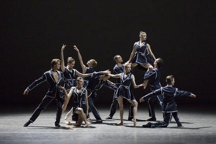 """New York City Ballet in Annabelle Lopez Ochoa's """"Unframed."""" Photo: Paul Kolnik."""