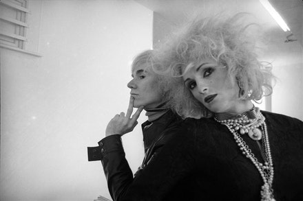 Cecil Beaton, <em>Andy Warhol and Candy Darling</em>, New York, 1969. © The Cecil Beaton Studio Archive at Sotheby's.