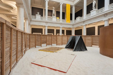 Installation view: <em>H&#233;lio Oiticia: To Organize Delirium</em>. Carnegie Museum of Art, October 1, 2016 &#8211; January 2, 2017, Pittsburgh, PA. Photo: Bryan Conley.