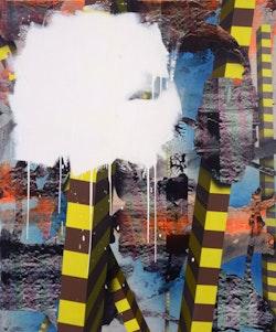 Bernard Gilbert, <em>Number 113</em>, 2010. Acrylic on polyester canvas, 70.9 &#215; 59.1 inches. Photo: Bernard Gilbert.