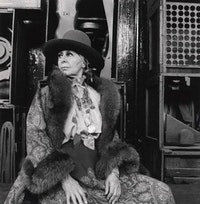 Louise Nevelson in 1978. Photo: Cecil Beaton.